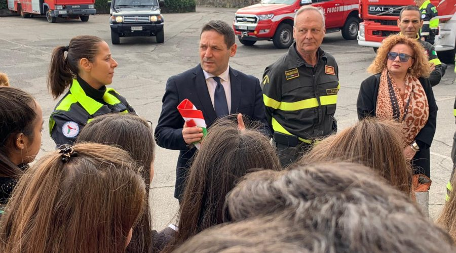 Riposto, sindaco di Mascali, Messina rende omaggio ai Vigili del fuoco periti ad Alessandria
