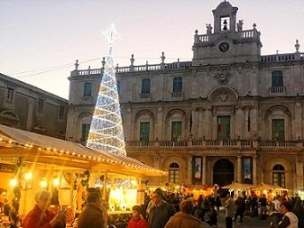 Catania, mercatini di Natale nel cuore del centro storico