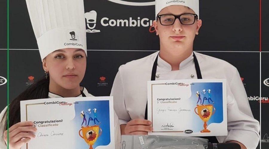 Terzo posto nella competizione Combiguru Challenge per gli studenti dell'alberghiero di Giarre
