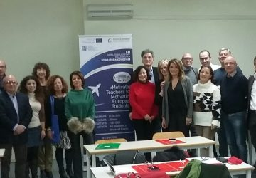"""Progetto Erasmus+ Ka101 Staff Transnational Mobility """"Motivated Teachers for Motivating European Students"""""""