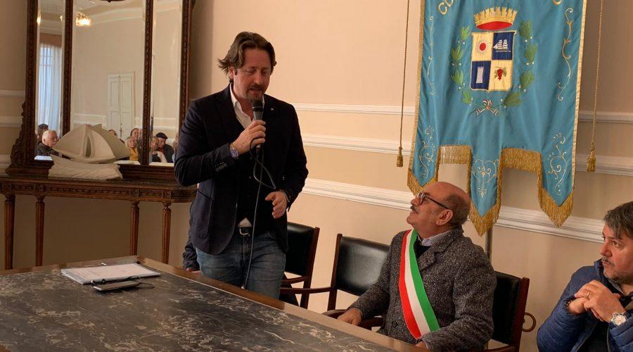 Riposto, visita istituzionale e sopralluoghi dell'assessore regionale Messina