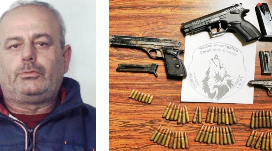 """Catania, i Lupi"""" scovano delle armi in una mansarda nel quartiere Pigno: meccanico in manette"""