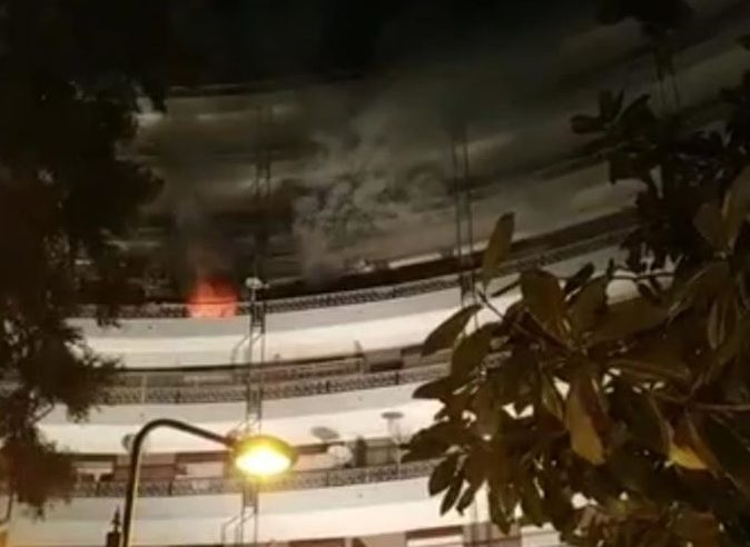 Acireale,  Capodanno nel terrore: divampa incendio in casa