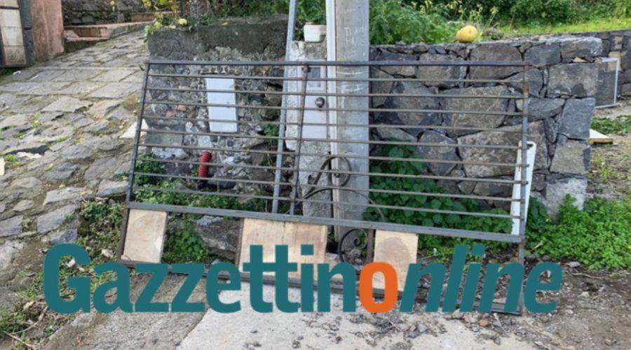 Macchia, 28enne schiacciata da un cancello davanti casa. Intervento dell'elisoccorso VD