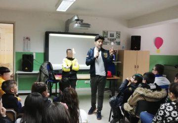 """Mascali, entusiasmo degli alunni dell'Istituto Comprensivo per la proiezione di """"Handy"""" VIDEO"""