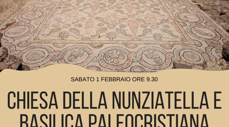 Conoscere la chiesetta Medievale della Nunziatella e la basilica paleocristiana grazie all'associazione culturale Stoà