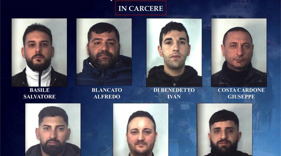 Sgominata banda dedita allo spaccio tra Catania e Caltagirone: 24 misure cautelari NOMI FOTO VIDEO