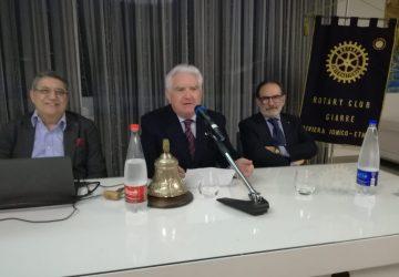 L'altra Cina: al Rotary Giarre riviera jonico-etnea un testimone d'eccezione, il prof. Mario Pisani