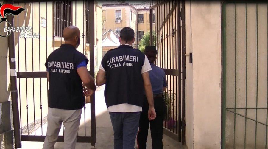 Blitz in casa di riposo a Catania, 7 lavoratori su 15 percepivano reddito di cittadinanza: denunciati VIDEO