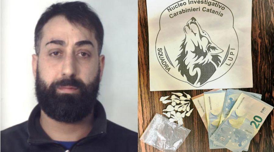 """Beccato mentre piazzava la """"coca"""": arresto dei """"Lupi"""" a Picanello"""