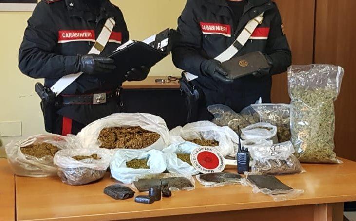 """Catania, arrestate """"signore"""" della droga. Sequestrati oltre 8 kg di stupefacenti"""