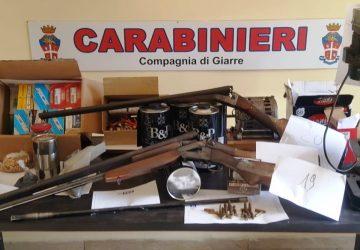 """Giarre, """"armeria"""" illegale in casa: scarcerato Alfio Russo"""