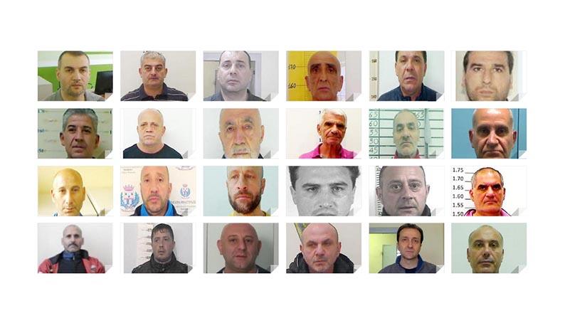 Mafia a Catania, operazione Thor: 23 arresti. Luce su 23 ...