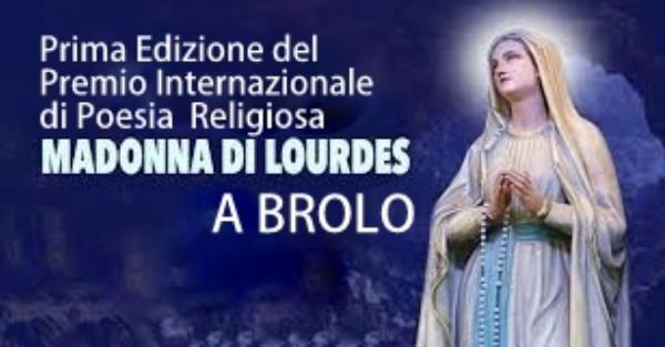 """Brolo, premio internazionale di poesia religiosa """"Beata Vergine Maria di Lourdes"""": i nomi dei vincitori"""
