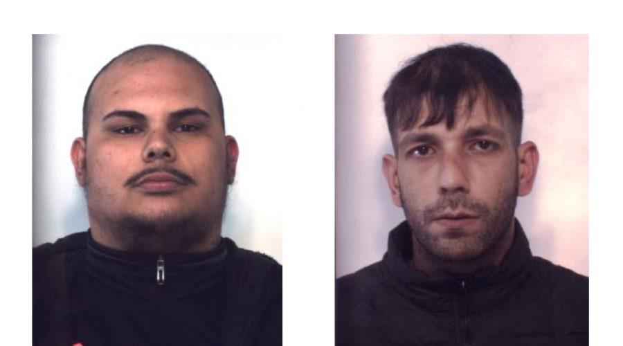 Catania, droga per tutti i gusti in via Gualandi: due gli arrestati