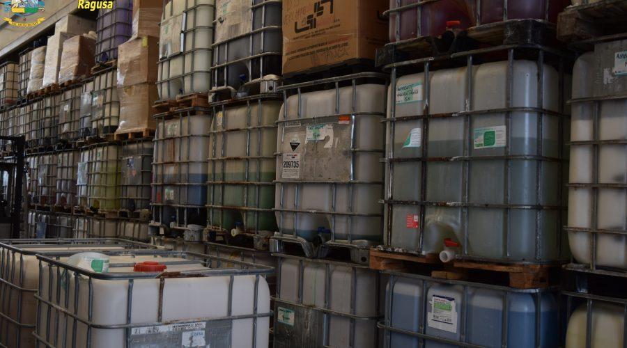 Sequestrati 4.500 litri di gel sanificante in diverse province. Rititrati flaconi anche in farmacie di Riposto e Catania