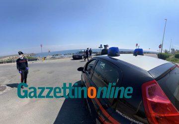 Pasquetta blindata nel comprensorio giarrese, controlli interforze dei carabinieri e della polizia locale VD
