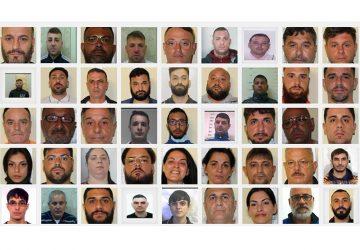 Catania, colpo al cuore al clan Cappello Bonaccorsi: 52 arresti NOMI FOTO