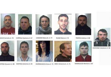 """Operazione """"Ultra"""", spaccio nell'ennese: in manette 11 catanesi"""