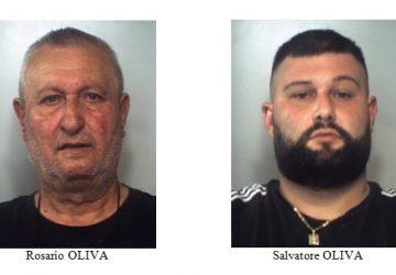 Nascondevano 2 Kg di marijuana nel cortile dove giocavano i bambini: padre e figlio in manette