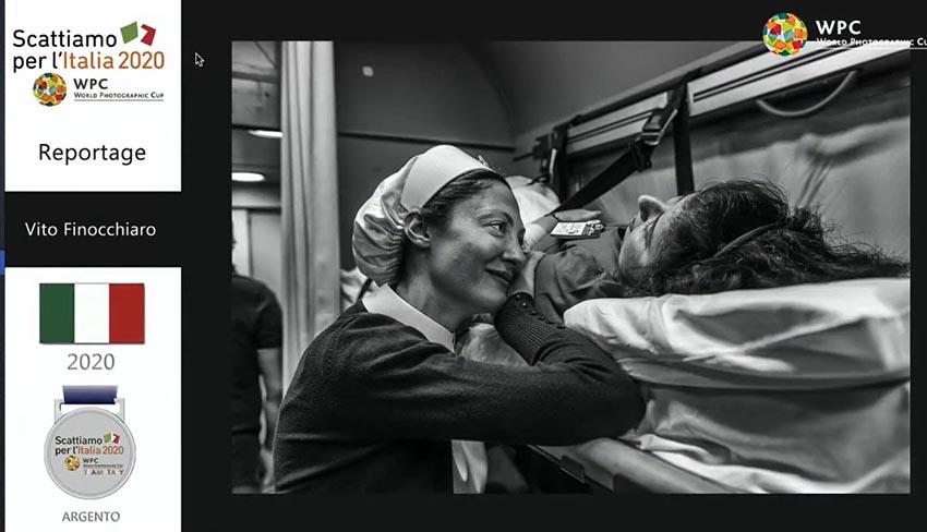 """Il fotografo Vito Finocchiaro vince la medaglia d'argento al prestigioso concorso """"Scattiamo per l'Italia"""""""