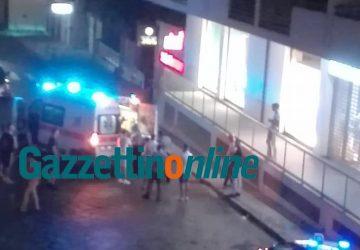 Giarre, grave incidente in via Finocchiaro Aprile: travolto un pedone VIDEO