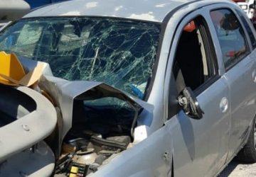 Catania, grave incidente autonomo a San Giuseppe La Rena: 3 feriti, uno grave