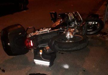 Riposto, collisione fra suv e moto: un ferito