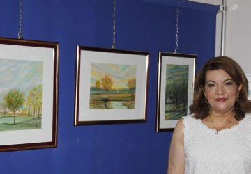 Zafferana Etnea: mostra di pittura dell'artista Graziella Bonaccorsi