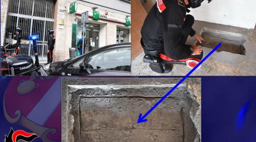 "Catania, carabinieri scoprono un ""varco"" per raggiungere una banca"