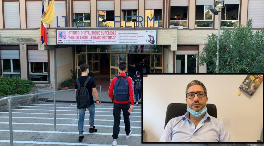 """Il caso di positività all'Itis di Giarre, il preside Gaetano Ginardi: """"Nessun allarme, la scuola è altamente sicura"""" VIDEO"""