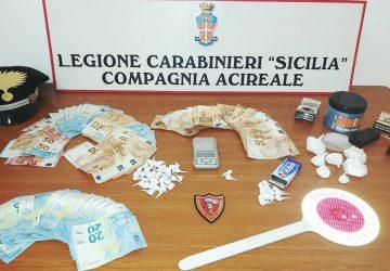 """San Giovanni La Punta, occultava in casa la """"coca"""" da piazzare: arrestato"""