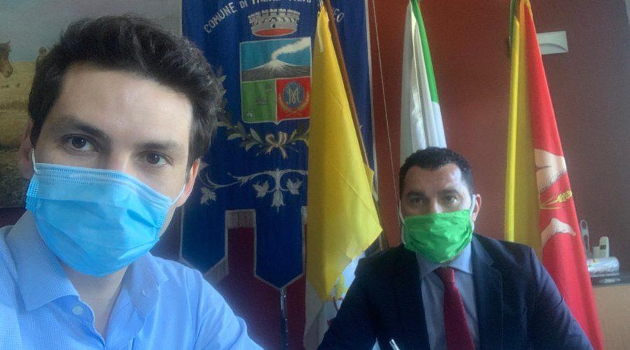 Candidato a sindaco a Tremestieri Etneo positivo al Covid: allestita dall'Asp postazione per effettuare i tamponi