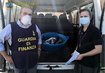 Catania, sequestrati dalla Sezione Operativa navale della Guardia di finanza 18 esemplari di pesce spada novello