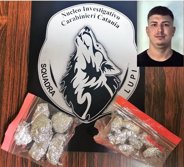 """Catania, """"Lupi"""" arrestano spacciatore: consegnava le dosi in bicicletta"""
