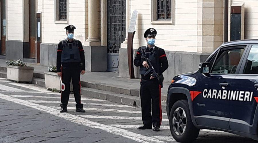 Controlli nel Giarrese dei carabinieri sul rispetto delle misure contenimento Covid