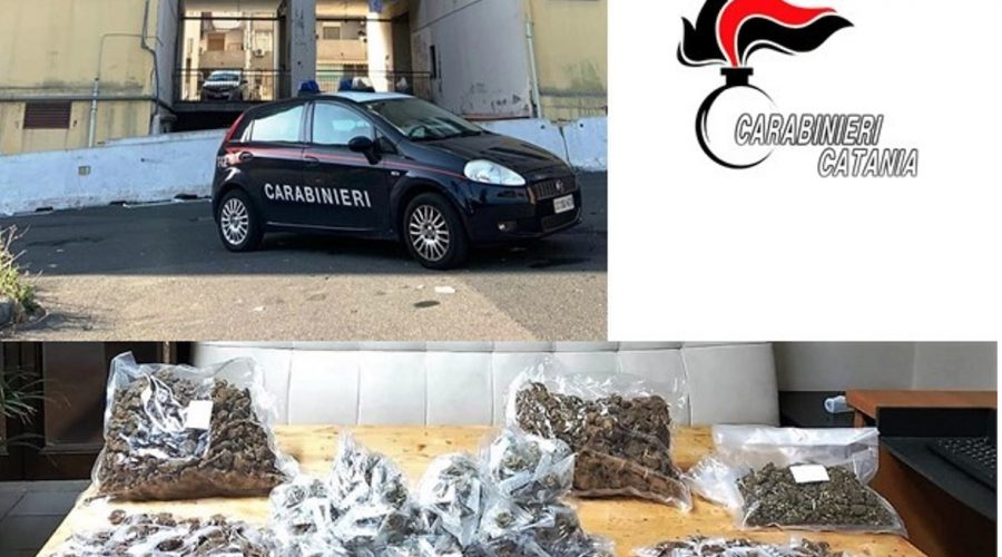 Catania, pusher in manette in viale Nitta: nascondeva 2,5 Kg di marijuana dentro un tombino