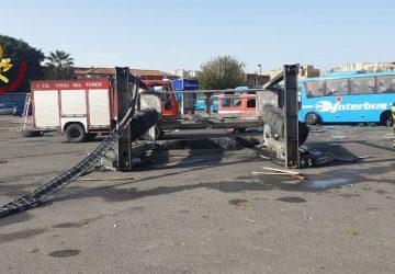 Maltempo, Vizzini, messa in sicurezza parcheggio Interbus