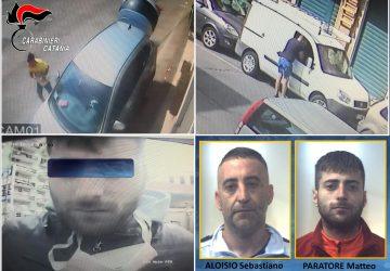 Catania, guai a lasciare incustoditi veicoli e borse con loro nei paraggi: arrestati due ladri seriali