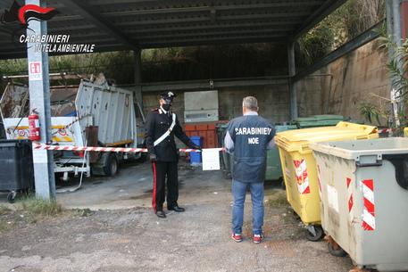 Carabinieri del Noe di Catania sequestrano un centro di raccolta rifiuti