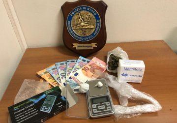 Acireale, arrestato dalla polizia sorvegliato speciale per spaccio di droga