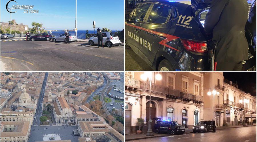 Catania e Provincia, intensificati i controlli anti covid-19 dei Carabinieri VIDEO