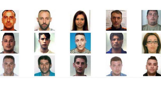 Operazione Family Drug: 16 indagati. Stroncato traffico di droga nel Catanese NOMI FOTO VIDEO