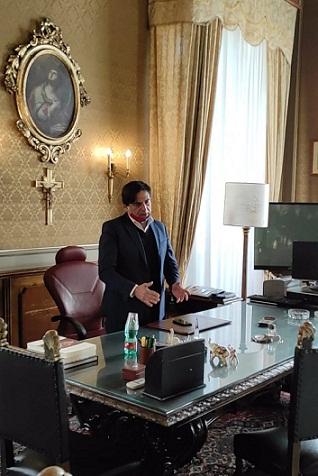 Catania, Salvo Pogliese riprende le funzioni di sindaco