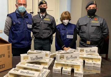 Catania, sequestrati oltre 70 kg di sigarette di contrabbando