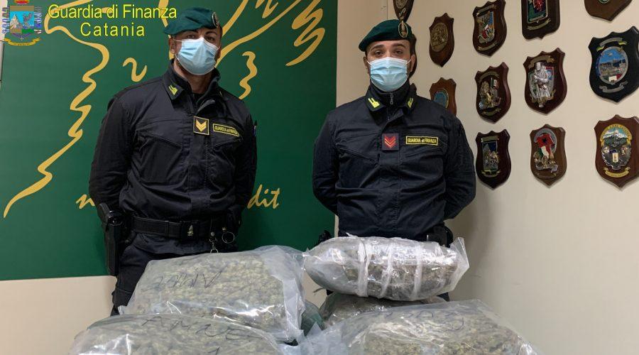 Beccato ad Acireale con 7 kg di marijuana: arrestato 43enne