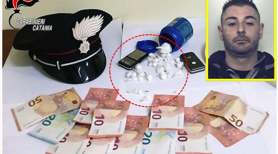 Fermato a Riposto con la cocaina in auto: arrestato 32enne mascalese