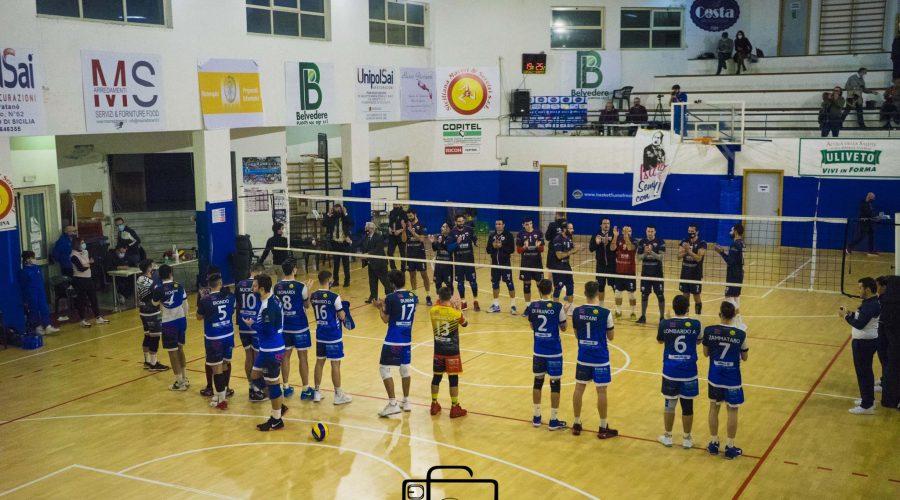 Volley, serie B maschile: il Papiro Fiumefreddo cede il derby al Letojanni