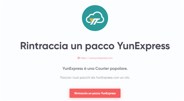 YunExpress Tracking, spedizione di e-commerce garantite