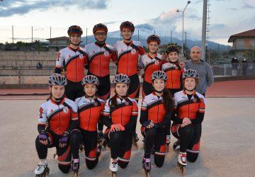 Pattinaggio a rotelle, soddisfazioni per gli atleti dell'Associazione Diavoli Rossi
